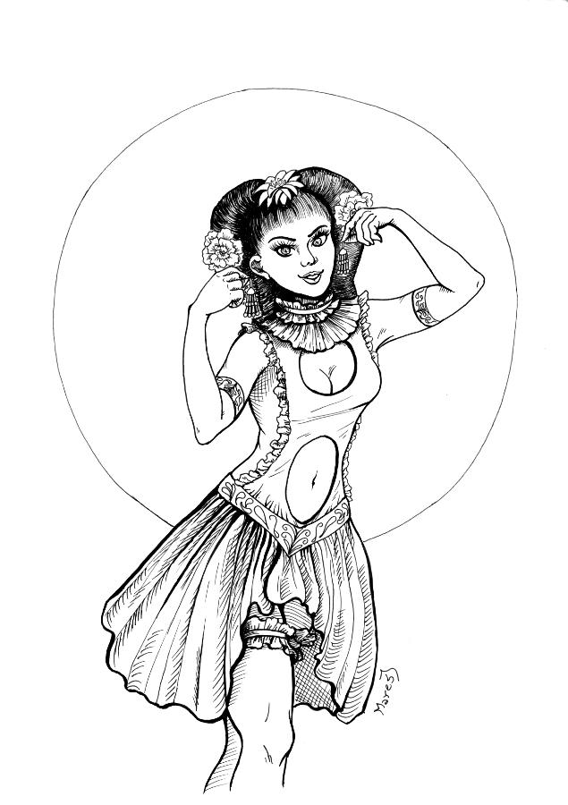 Dívka č.2