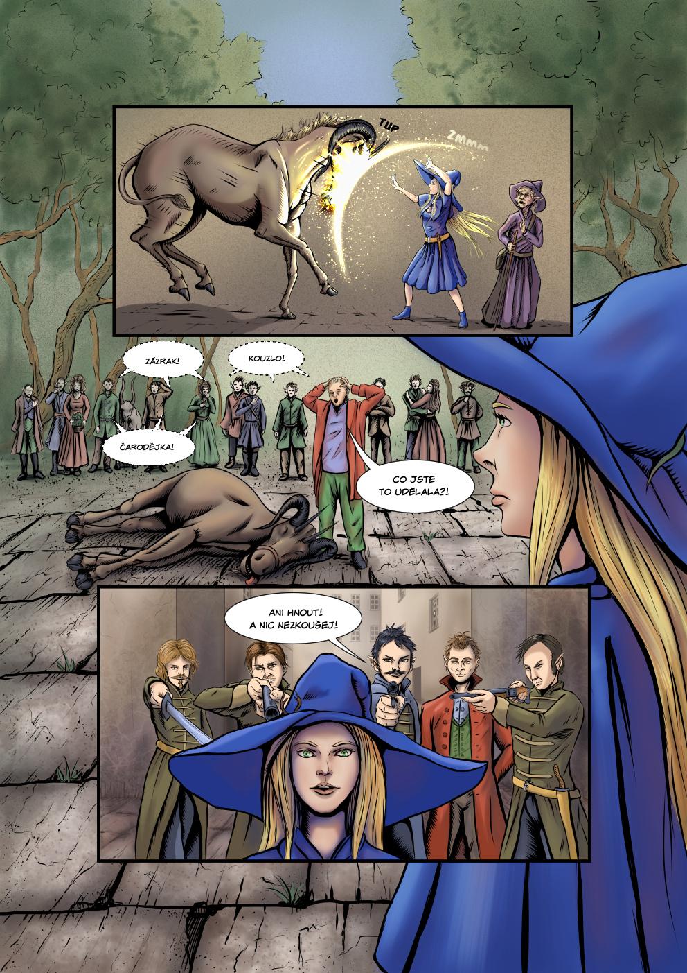 Příběh čarodějky - 1. kapitola