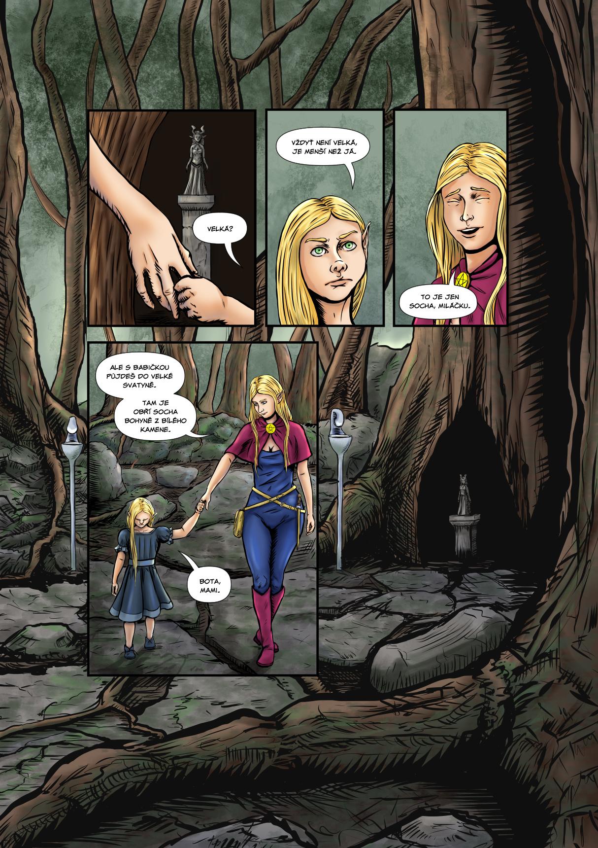 Příběh čarodějky - Prolog