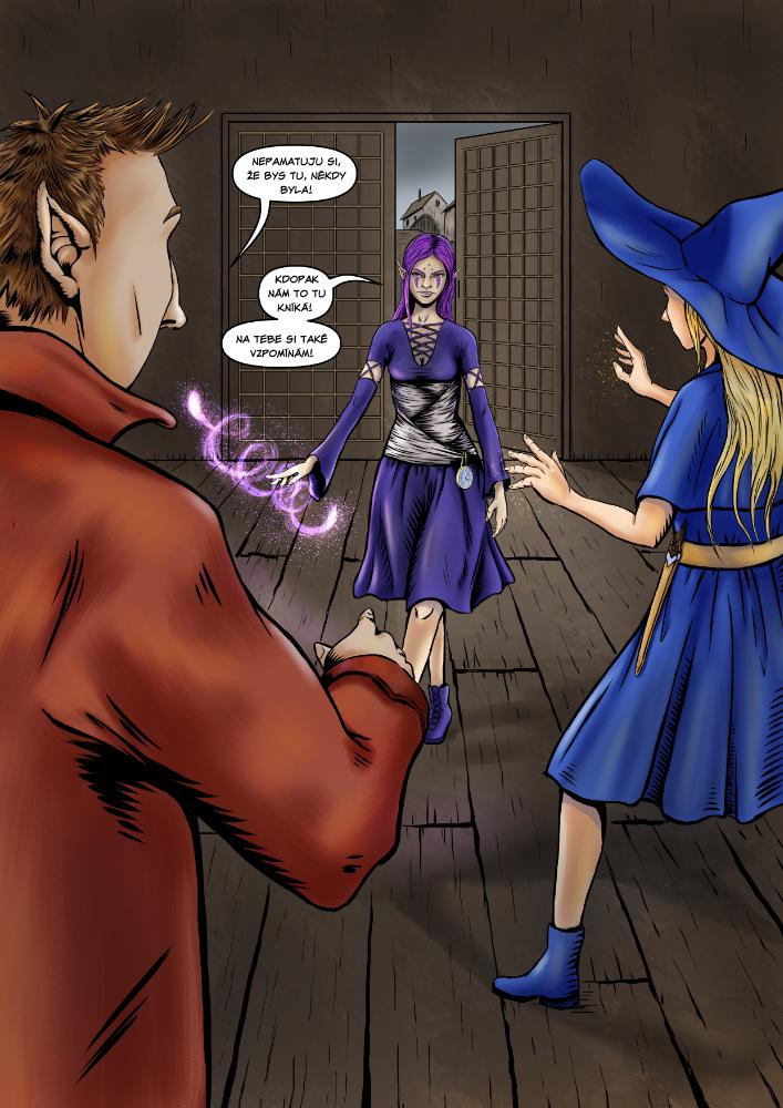 Příběh čarodějky - 1. kapitola - Bohyně smrti